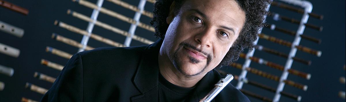 Home Page of Multidirectional Flute Soloist Pedro Eustache